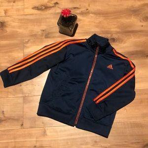 Adidas ~ Boys track Jacket - size 5